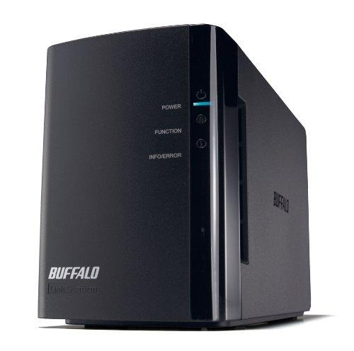 BUFFALO RAID1対応 NAS(ネットワークHDD) 【iPhone5対応(WebAccess i)】 2ドライブモデル 2TB LS-WX2.0TL/R1J