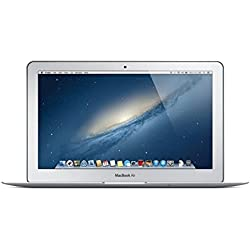 Apple MacBook Air MD711LL/A 11.6-Inch Laptop (1.3GHz Intel Core i5 Dual-Core, 4GB RAM, 128GB SSD, Wi-Fi, Bluetooth 4.0) (Certified Refurbished)