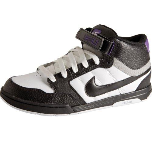 Sneaker Nike 6.0 Air Mogan Mid white/black/varsity purpl 11.0
