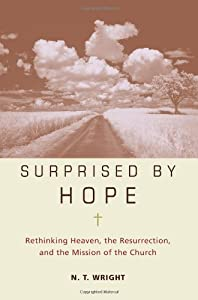 "Cover of ""Surprised by Hope: Rethinking H..."