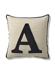 Letter A Cushion