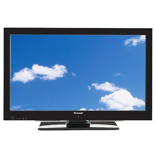 Sharp LC32LE510E 81 cm (32 Zoll) LED-Backlight-Fernseher, Energieeffizienzklasse B (Full-HD, DVB-T/C, PVR-ready, USB 2.0) schwarz
