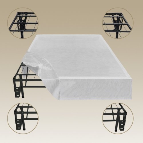 Sleep Master Platform Metal Bed Frame Foundation Set