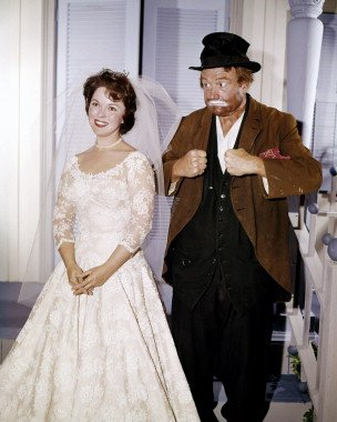 """From """"The Red Skelton Show"""" - Shirley Temple and Freddy the Freeloader"""