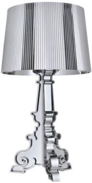 Kartell 907200 Bourgie Lampada , Colore Argento metallizzato