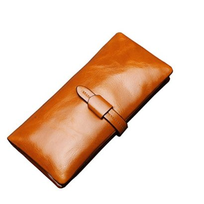 Covelin-Womens-Purse-Handbag-Large-Capacity-Genuine-Leather-Envelope-Clutch-Wallet-Soft-Hot