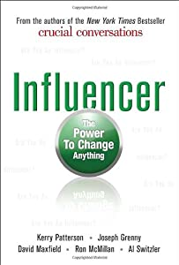 "Cover of ""Influencer: The Power to Change..."