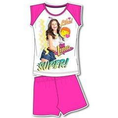 Disney-Soy-Luna-Funda-para-pijama-2pz-Camiseta-Juego-de-camiseta-manga-corta-y-Culote-Super-nia-novedades-7022PE-producto-original