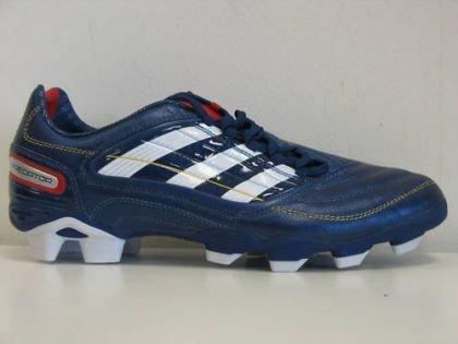 Adidas P Absolion_X AG CL Fußballschuh, blau/weiß/rot, Gr.44 (UK9.5)