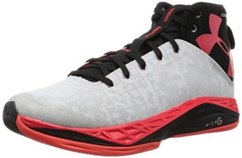 Under Armour Men's UA Fireshot Basketball Shoes 10.5 White