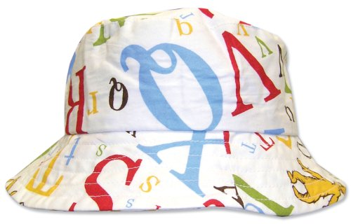 Trend Lab Dr. Seuss Bucket Hat, ABC, 6 Months