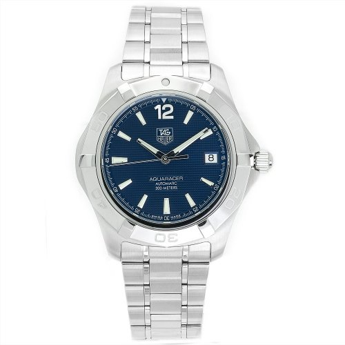 TAG Heuer Men's WAF2112.BA0806 Aquaracer Automatic Stainless Steel Blue Dial Watch