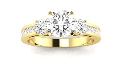 13-Carat-14K-Yellow-Gold-Channel-Set-3-Three-Stone-Round-Cut-Diamond-Engagement-Ring-H-Color-SI1-Clarity