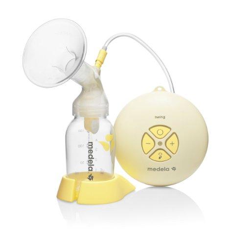 メデラ medela 【日本正規品、2年間保証付き】 スイング (swing) 電動さく乳器 030.0035 赤ちゃんの飲むリズムを忠実に再現した電動タイプ