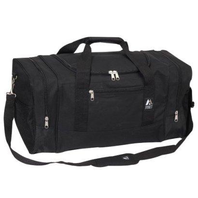 Everest-Luggage-Sporty-Gear-Bag-Large-Black-Black-One-Size