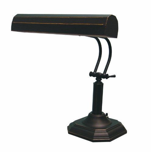 Lite Source LS-398D/BRZ Piano Mate Piano Lamp, Dark Bronze