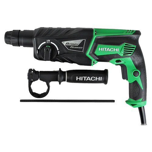 41byAP85eyL - BEST BUY #1 Hitachi DH26PX 26mm 240V SDS Plus Rotary Hammer Drill and Side Handle