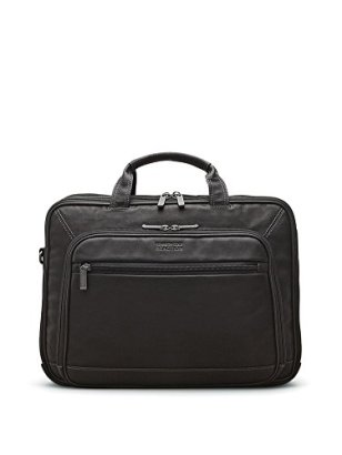 Kenneth-Cole-Reaction-Leather-Convertible-Portfolio-Black-One-Size