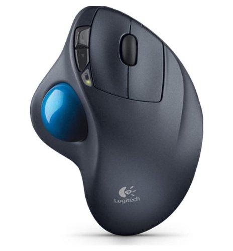 Logitech M570 Wireless Trackball, Computer Wireless Mouse, Long Range Wireless Mouse