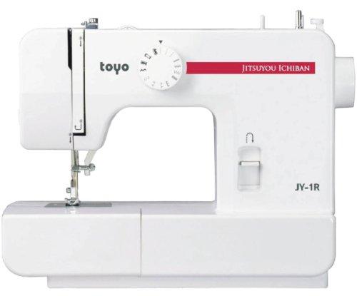 トーヨー 電動ミシン レッド JY-1R