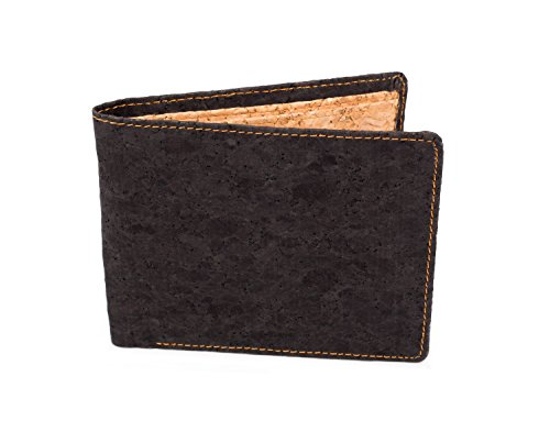 Bifold Slim Men's Wallet made from Eco friendly Cork
