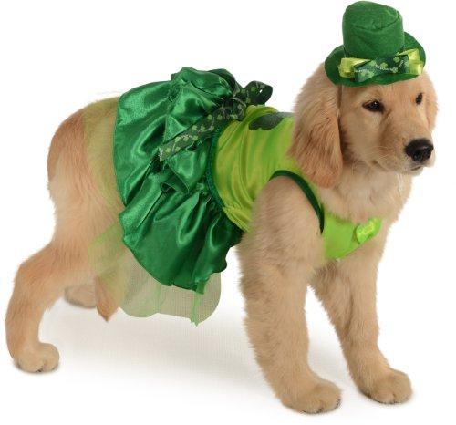 Rubies Costume Halloween Classics Collection Pet Costume, Small, Irish Girl