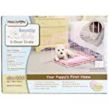 Precision Pet SnooZZy 24 by 18 by 19-Inch 2-Door Baby Crate, Size 2000, Pink