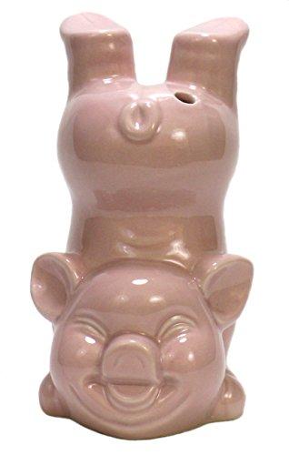 Pink Pig Bottoms Up Ceramic Cocktail Tiki Mug
