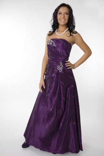 Modell 2057 Abendkleid lang, schulterfrei