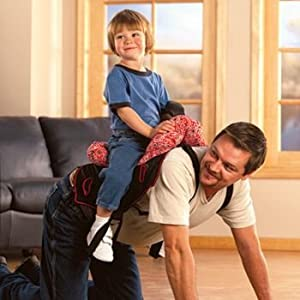 Child Saddle for Daddy - Daddle Toy Saddle