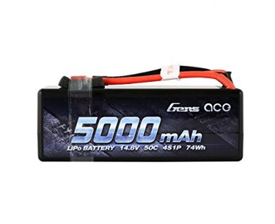 Gens-ace-LiPo-Battery-Pack-5000mAh-148V-50C-4S-HardCase-with-Deans-T-Plug-for-RC-Car-Boat-Truck-Roar-Approved
