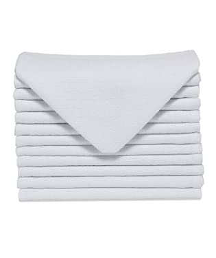 Mothercare muslin squares - 12pk White