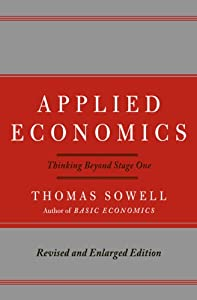 "Cover of ""Applied Economics: Thinking Bey..."