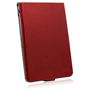 BoxWave Ruby Patent Leather Vertical Flip nook (1st Edition) Case