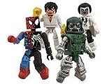 Marvel (マーブル) MiniMates Secret Wars 4Pack Boxed Set Secret Wars SpiderMan (Symbiote Bond), Dr. Doom, Beyonder, Photon(並行輸入)