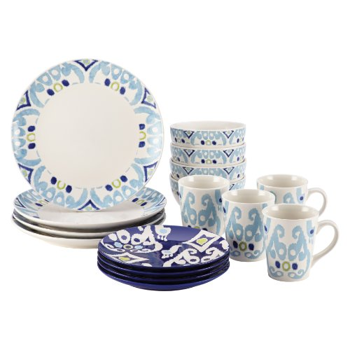Rachael Ray Dinnerware Ikat Collection 16-Piece Set
