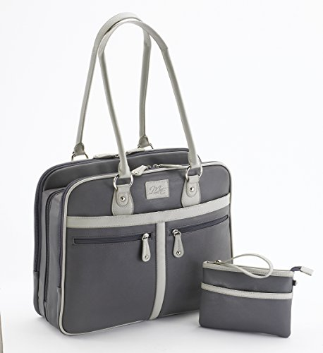 Mobile Edge 16-Inch Verona Laptop Tote, Graphite (MEWVLG)