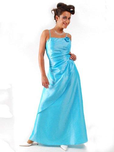 Envie/Paris - 1009 SOPHIA Abendkleid Ballkleid 1-teilig in Türkis Gr.40 / 142cm