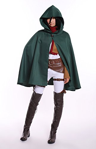 mikasa costume for women