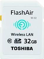 TOSHIBA FlashAir SDHCメモリカード Class10 UHS-I 32GB SD-AF32GWF(FFP)