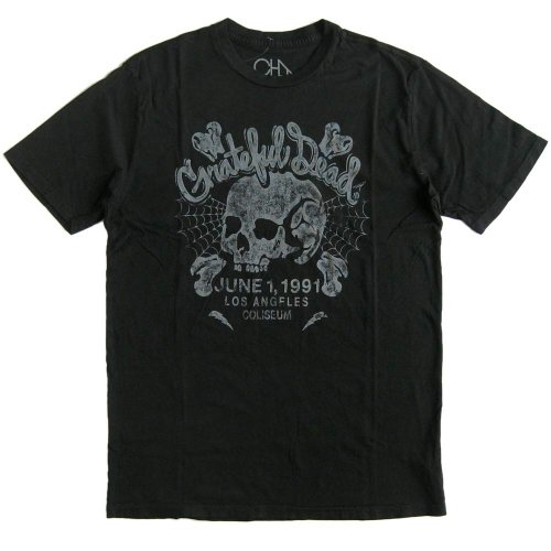 (チェイサー)Chaser メンズ半袖Tシャツ 「LA CONCERT」 The Grateful Dead/グレイトフル・デッド バンドTシャツ [並行輸入品]