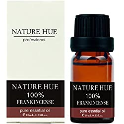 Nature Hue - Frankincense Essential Oil 10 ml, 100% Pure Therapeutic Grade, Undiluted