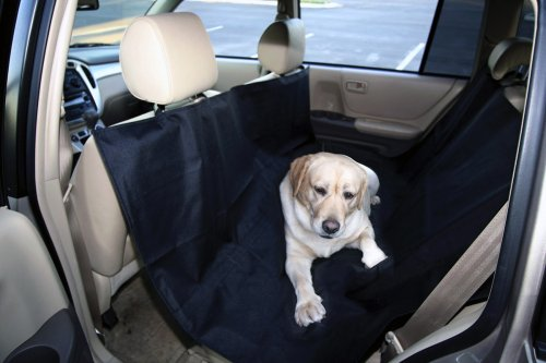 dog cat car seat cover with extra length coverage