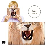 Animal Mask Book Cover アニマルマスクブックカバー [ Lion ]