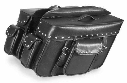Dowco x 6.5in. Black Jack Large Slant Saddlebag 16in x 11in 59589-00