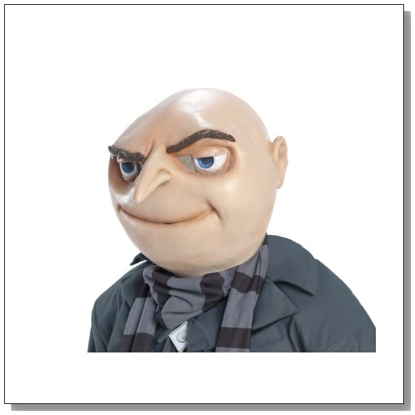 Rubie's Costume Despicable Me 2 Gru Mask, Multicolor, One Size