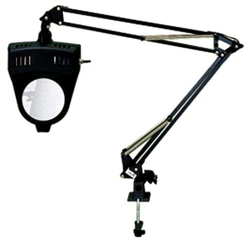 SE 110V Illuminated 2x Magnifier Desk Lamp