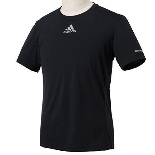 (アディダス)adidas M SQ ランニング 半袖Tシャツ ITQ08 S03011 ブラック J/M