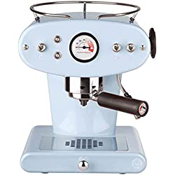 illycaffè X1 ESE - Máquina de café de monodosis, color azul claro