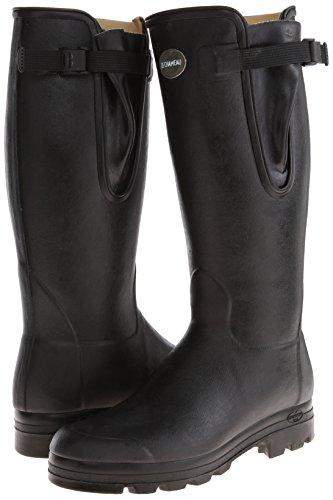 Le Chameau Footwear Men S Vierzon Cuir Rain Boot Noir 44